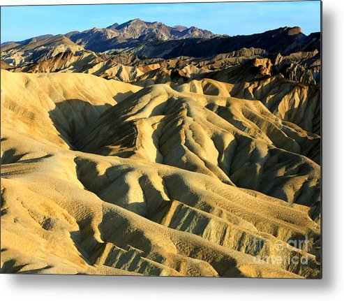 Mountains Metal Print featuring the photograph Difficult Road by Bryan Shane