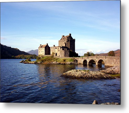 Clan Macrae Metal Print featuring the photograph Eilean Donan Castle Kintail Scotland by Rodger Insh