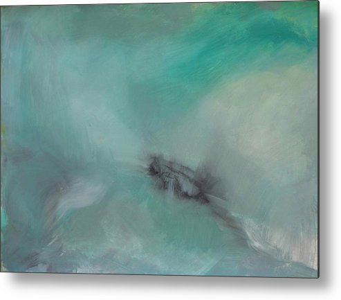 Metal Print featuring the painting Emotional Movement by Katie Ketchum
