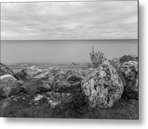 Lake Michigan Metal Print featuring the photograph Fall Morning by Stevan Tontich
