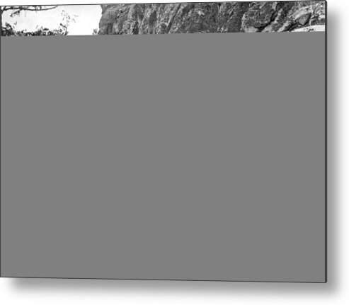 1890 Metal Print featuring the photograph Grand Canyon Mule Trail by Underwood Archives