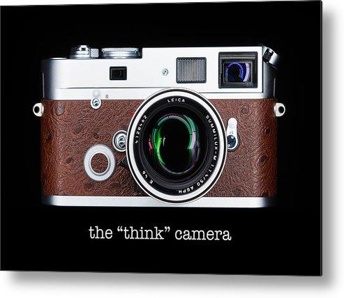 Leica Metal Print featuring the photograph Leica M7 by Dave Bowman