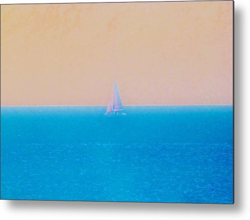Color Metal Print featuring the photograph Pastel Trip by Amar Sheow