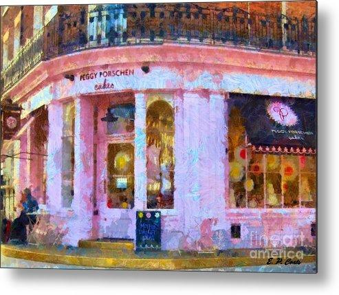 Paris Metal Print featuring the painting Peggy Porschen Cakes Paris by Elizabeth Coats
