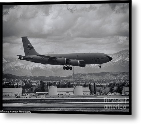 Boeing Kc-135 Stratotanker Metal Print featuring the photograph Stratotanker by Tommy Anderson