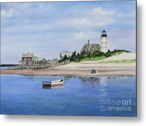 Man Metal Print featuring the painting The Clammer by Karol Wyckoff