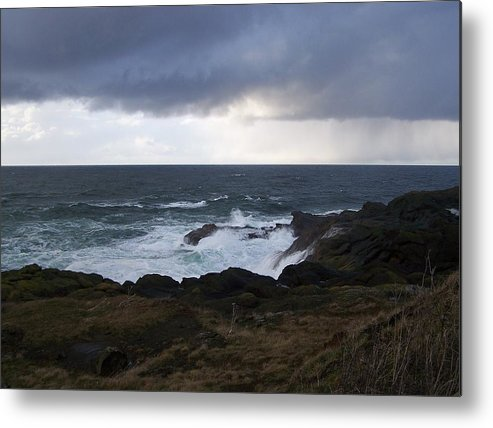Ocean Metal Print featuring the photograph The Sea by Heather L Wright