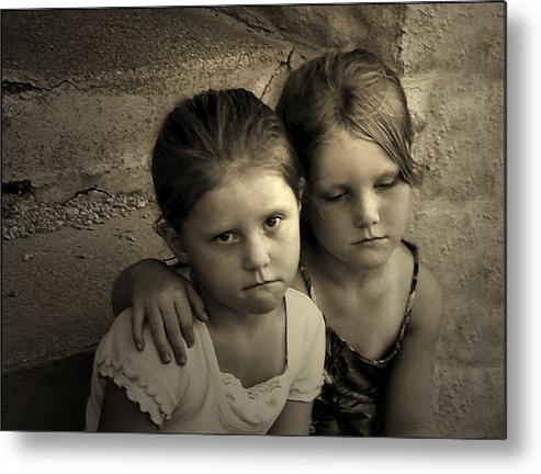 Sisters Metal Print featuring the photograph The Sisters by Julie Dant