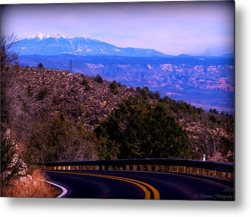 Agassiz Peak Metal Print featuring the photograph Peaks From The Black Hills by Aaron Burrows