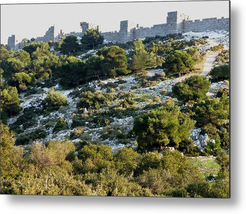 Phyle Metal Print featuring the photograph Phyle Fortress by Andonis Katanos