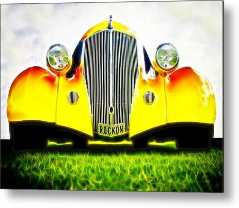 Ford Hot Rod Metal Print featuring the photograph Rockon Rod by Phil 'motography' Clark
