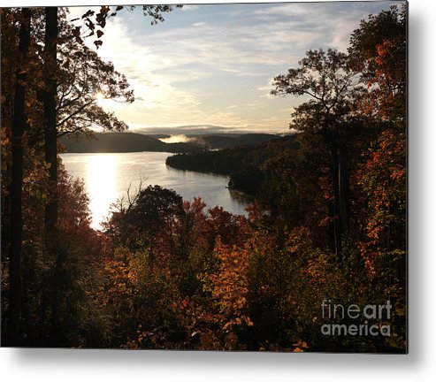 Autumn Metal Print featuring the photograph Dawn At Algonquin Park Canada by Oleksiy Maksymenko