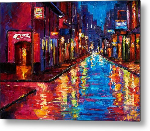 New Orleans Art Metal Print featuring the painting New Orleans Magic by Debra Hurd