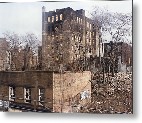 Bronx Metal Print featuring the photograph American Ghetto - The South Bronx In New York City by Daniel Hagerman