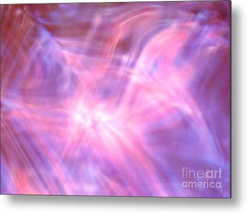 Abstract Metal Print featuring the photograph Clarification by Sybil Staples