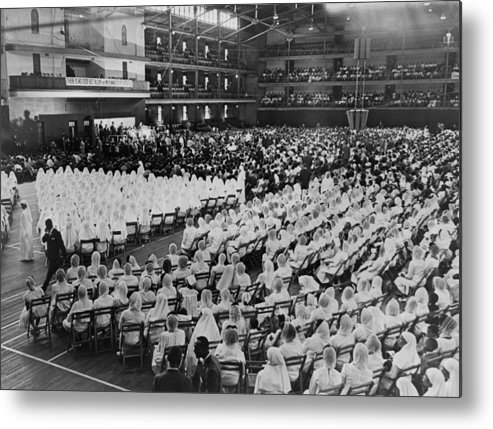 History Metal Print featuring the photograph Elijah Muhammad Addressing An Assembly by Everett