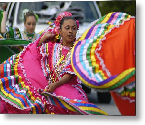 Dance Metal Print featuring the photograph Fiesta by Lori Seaman
