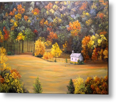 A Painting A Day Metal Print featuring the painting Grace by Connie Tom
