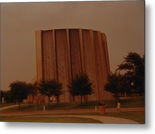 Water Metal Print featuring the photograph Houston Waterfall by Rob Hans