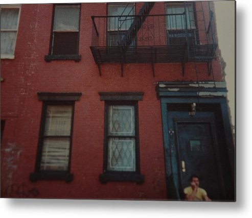 Lower East Side Metal Print featuring the photograph My Pops First Home In The United States by Rob Hans