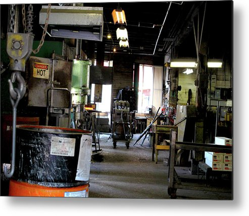 Vancouver Metal Print featuring the photograph The Shop by Dustin Woods