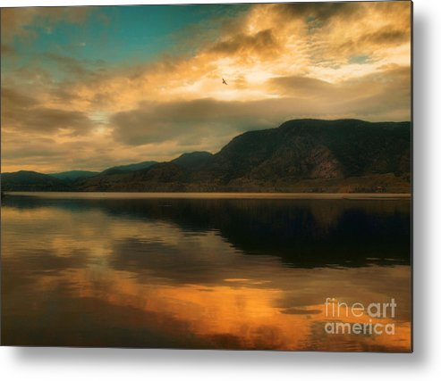 Skaha Metal Print featuring the photograph The Skaha Sunrise by Tara Turner