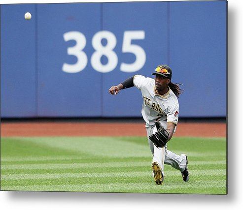 American League Baseball Metal Print featuring the photograph Andrew Mccutchen by Alex Trautwig