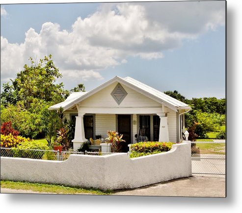 Color Metal Print featuring the photograph 343 Cottage by Amar Sheow