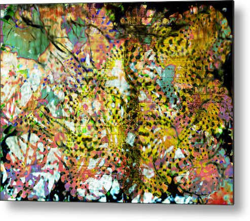 Alcohol Influence Metal Print featuring the digital art Alcohol Influence by Seventh Satellite