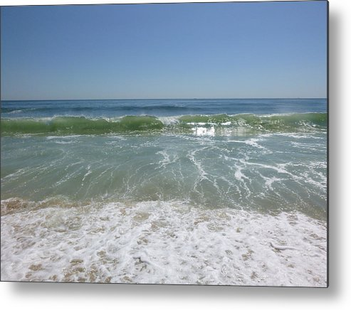 August Metal Print featuring the photograph August Ocean by Ellen Paull