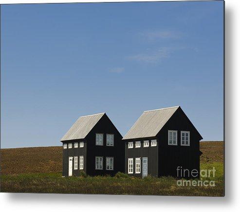 Excellent Black Houses Hellnar Iceland Metal Print Download Free Architecture Designs Xoliawazosbritishbridgeorg