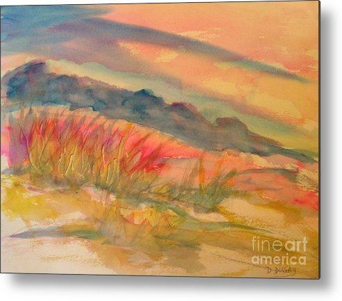 Arizona Metal Print featuring the painting Desert Dreams by Dona Dugay