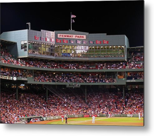 Boston Metal Print featuring the photograph Fenway Park by Juergen Roth