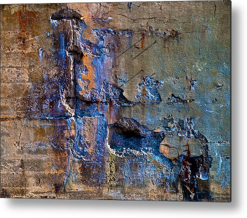 Industrial Metal Print featuring the photograph Foundation Seven by Bob Orsillo
