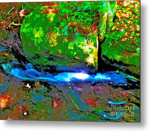Landscape Metal Print featuring the photograph Hcbyb 105 by George Ramos