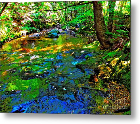 Landscape Metal Print featuring the photograph Hcbyb 114 by George Ramos