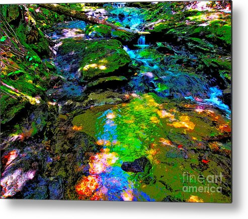 Landscape Metal Print featuring the photograph Hcbyb 124 by George Ramos