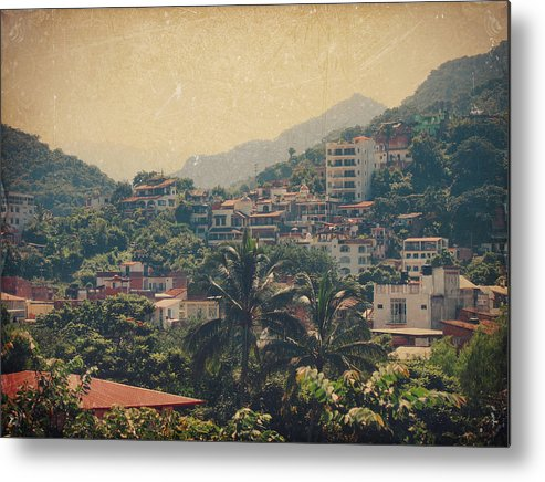Puerto Vallarta Metal Print featuring the photograph It Was Years Ago by Laurie Search