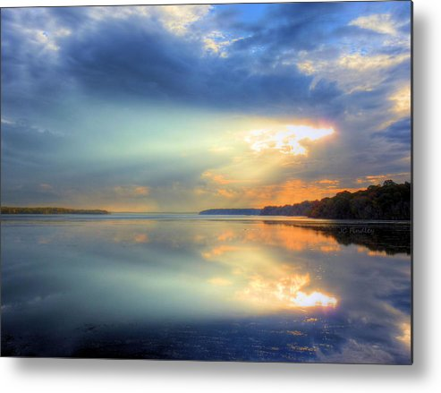 Sun Rays Metal Print featuring the photograph Let There Be Light by JC Findley