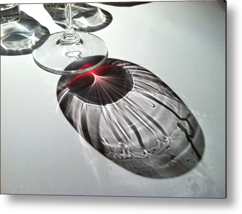 Wine Metal Print featuring the photograph Look At Those Legs by Anna Villarreal Garbis