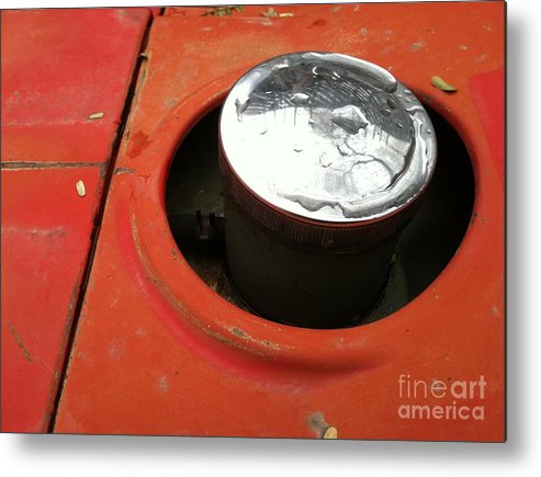 Construction Metal Print featuring the photograph Pc 64 by Marlene Burns