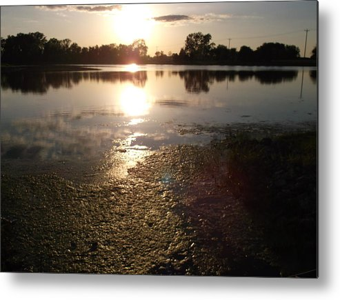 Water Metal Print featuring the photograph Still Waters by Shannon Quinn