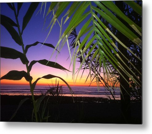 Sunset Metal Print featuring the photograph Sunset At Sano Onofre by Paul Carter
