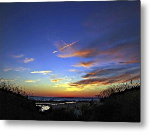 Sauble Beach Metal Print featuring the photograph Sunset X by Steve Harrington