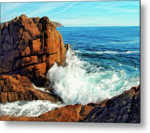 Surge Metal Print featuring the painting Surge by Dominic Piperata
