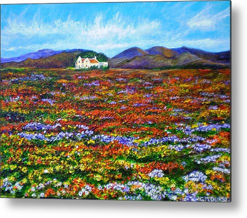 Flower Metal Print featuring the painting This Must Be Heaven by Michael Durst