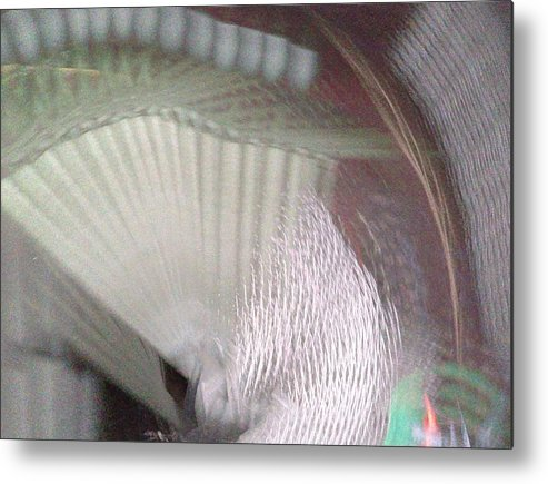 Waves2 Metal Print featuring the digital art Waves2 by D Preble