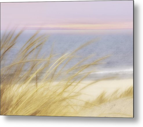 Beach Metal Print featuring the photograph Beach Pastel by Cheryl Butler