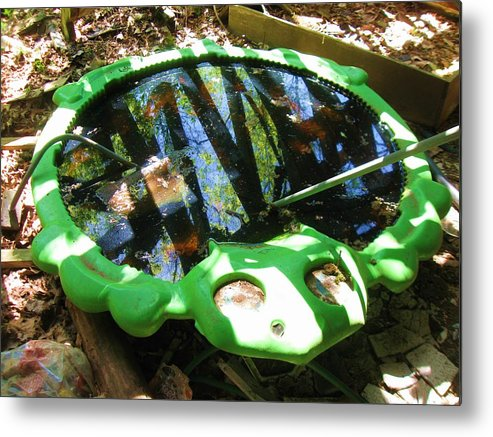 Old Turtler Sandbox Metal Print featuring the photograph Days Gone By by Todd Sherlock