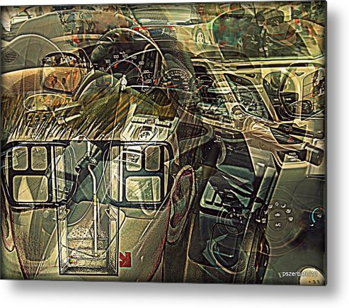 Take The Helm Metal Print featuring the digital art Take The Helm by Paulo Zerbato